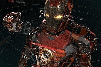 Quadro Homem de Ferro - Projeto