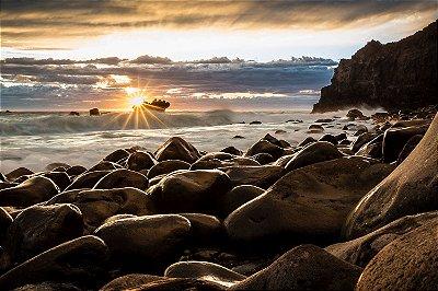 Quadro Praia - Pedras do Mar 2