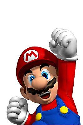 Quadro Gamer Mario - Super Mario Bros