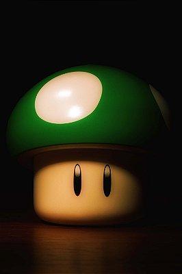 Quadro Gamer - Mario Vida Extra
