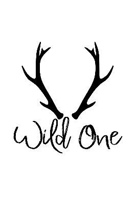 Quadro com Frase - Wild One