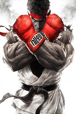 Quadro Gamer Street Fighter - Ryu
