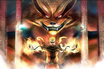 Quadro Naruto - 9 Caudas