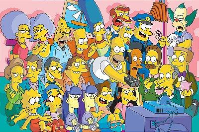 Quadro Simpsons - Sofá 4