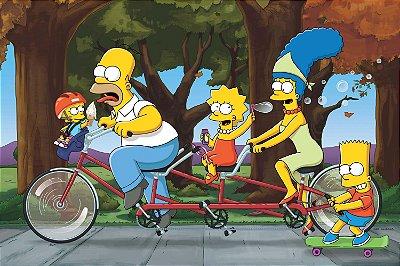 Quadro Simpsons - Bicicleta