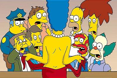 Quadro Simpsons - Nudes 2