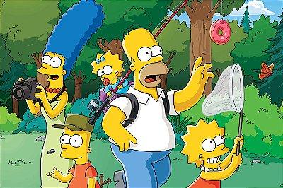 Quadro Simpsons - Passeio