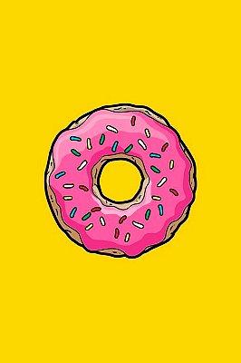 Quadro Simpsons - Rosquinha