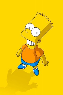Quadro Simpsons - Bart