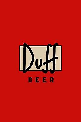 Quadro Simpsons - Duff Beer