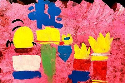 Quadro Simpsons - Pintura