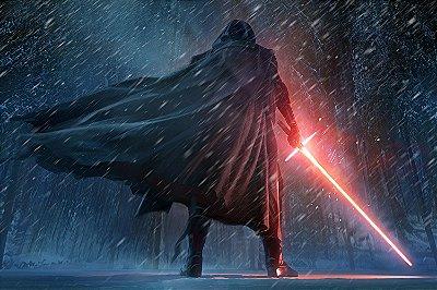 Quadro Star Wars - Kylo Ren 3