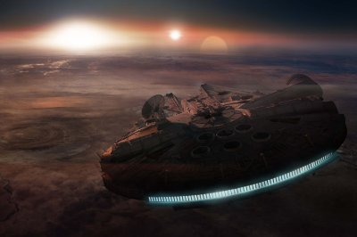 Quadro Star Wars - Millenium Falcon 2