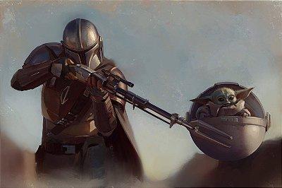 Quadro Star Wars - The Mandalorian 2