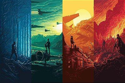 Quadro Star Wars - Artístico 3