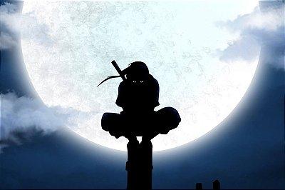 Quadro Naruto - Itachi Uchiha Noite