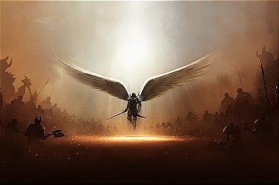 Quadro Gamer Diablo - Anjo