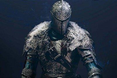 Quadro Gamer Dark Souls - Guerreiro