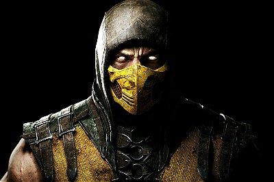 Quadro Gamer Mortal Kombat - Scorpion