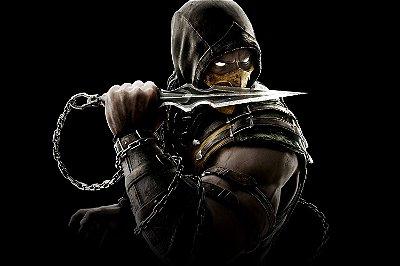 Quadro Gamer Mortal Kombat - Scorpion 2