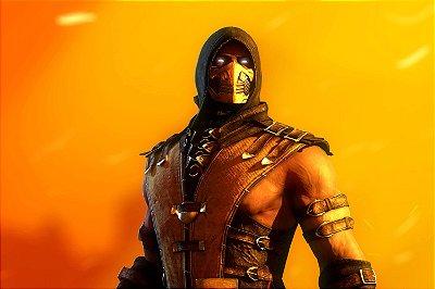 Quadro Gamer Mortal Kombat - Scorpion 3