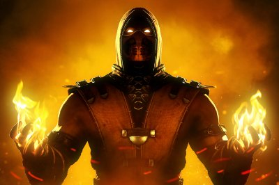 Quadro Gamer Mortal Kombat - Scorpion 5
