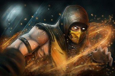 Quadro Gamer Mortal Kombat - Scorpion 6