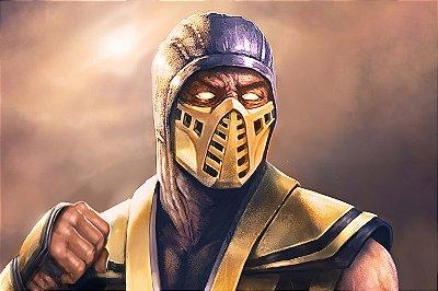 Quadro Gamer Mortal Kombat - Scorpion 7