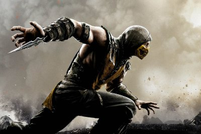 Quadro Gamer Mortal Kombat - Scorpion 8