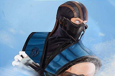 Quadro Gamer Mortal Kombat - Sub-Zero 2