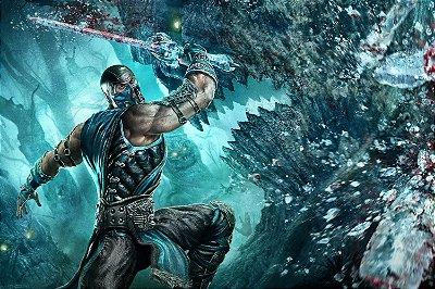 Quadro Gamer Mortal Kombat - Sub-Zero 3