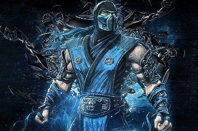 Quadro Gamer Mortal Kombat - Sub-Zero 4