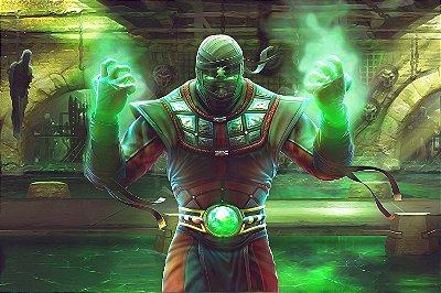 Quadro Gamer Mortal Kombat - Ermac