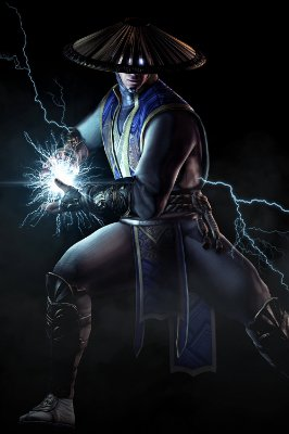 Quadro Gamer Mortal Kombat - Raiden 2