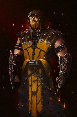 Quadro Gamer Mortal Kombat - Scorpion 9