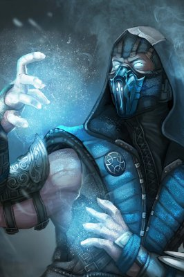 Quadro Gamer Mortal Kombat - Sub-Zero 6