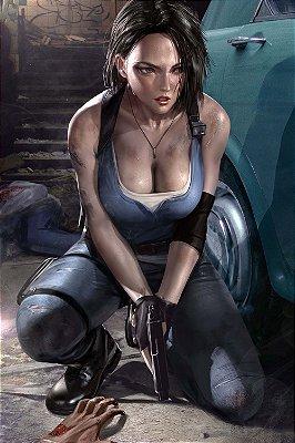 Quadro Gamer Resident Evil - Jill Valentine