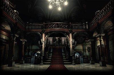 Quadro Gamer Resident Evil - Mansão