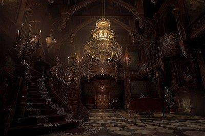 Quadro Gamer Resident Evil - Mansão 2