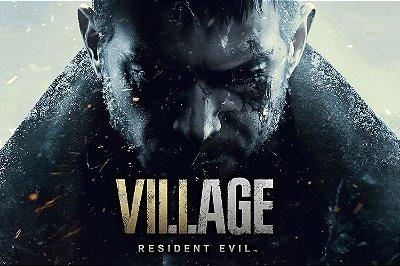 Quadro Gamer Resident Evil Village - Chris Redfield