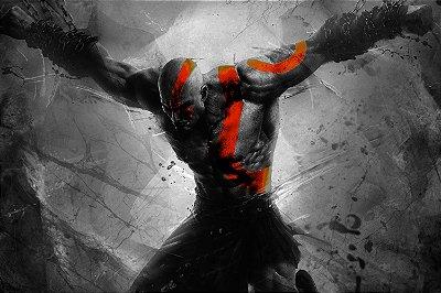Quadro Gamer God of War - Kratos 6