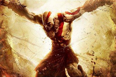 Quadro Gamer God of War - Kratos 7