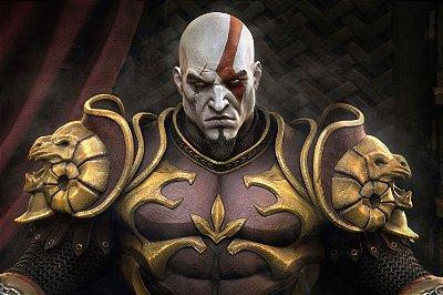 Quadro Gamer God of War - Kratos 8