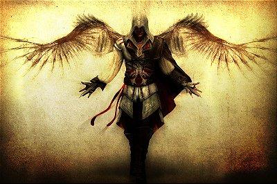 Quadro Gamer Assassin's Creed - Anjo da Morte