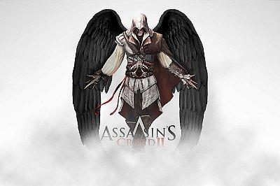 Quadro Gamer Assassin's Creed 2 - Anjo da Morte