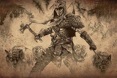 Quadro Gamer Assassin's Creed 3 - Selvagem