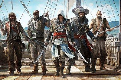 Quadro Gamer Assassin's Creed Black Flag - Piratas