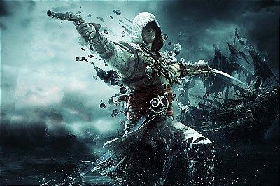 Quadro Gamer Assassin's Creed - Pirata 3