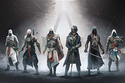 Quadro Gamer Assassin's Creed - Assassinos 2