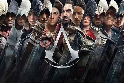 Quadro Gamer Assassin's Creed - Assassinos 3